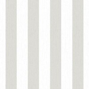 Julien MacDonald - Metallic Weiß/Silber - Vliestapete - 10m x 52cm