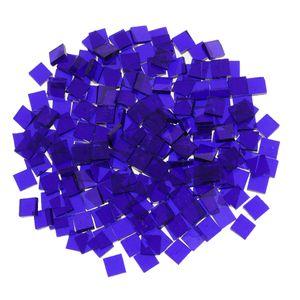 Lose Mosaikfliesen 210pcs Kobaltblau Quadrat 10 mm x 10 mm