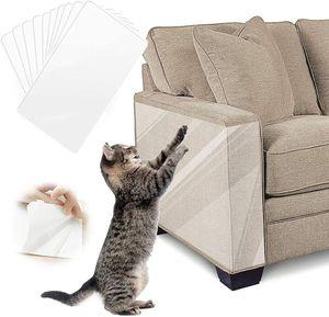 8 Stück Haustier Katze Kratzschutz Matte Katze Kratzbaum Sofa Möbel Protector Kratzschutz Matte Kratzbaum Folie Protector