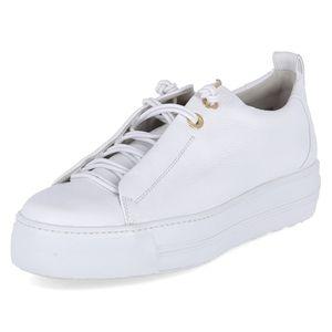 Paul Green Damen Sneaker Sneaker Low Leder weiss 5