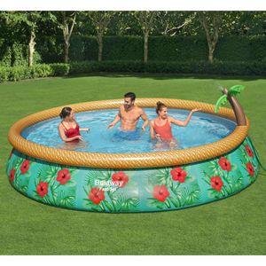 Fast Set Aufblasbares Pool-Set Paradise Palms 457x84 cm
