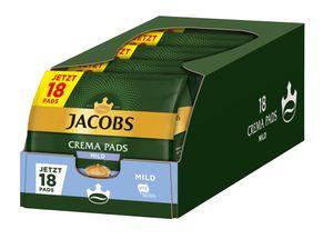 JACOBS Pads Crema Mild 5 x 18 Getränke - 90 Kaffeepads Senseo kompatibel