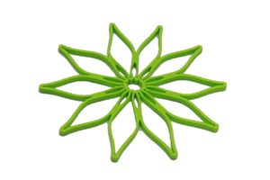 Kochblume Vario  Blumenuntersetzer  limette grün
