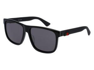 Gucci GG0010S Herren-Sonnenbrille mit Vollrand, Kunststoff