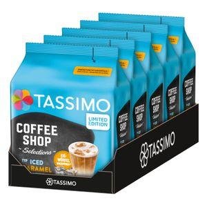 TASSIMO Kapseln Typ Iced Caramel Latte Coffee Shop Selections Discs 40 Getränke