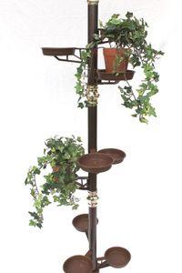DanDiBo Blumensäule 260 cm Blumentreppe Art.7 Blumenständer Pflanzsäule Pflanzständer