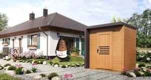 Gartentiger Gartenhaus Bratek 19