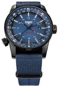 traser H3 109034 Herrenuhr Pathfinder GMT Blau