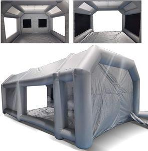 Aufblasbare Sprühkabine Zelt auto Tunnelzelte  Luftzelt Campingzelt Lackierkabine Autozelt  Luftzelt für Autolackierung und Autoschutz