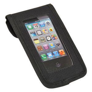 FISCHER Fahrrad Smartphonetasche Tasche, Schwarz, 7 x 11 x 22 cm