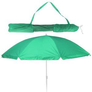 Balkonschirm - Strandschirm - Sonnenschirm - LSF 30+ - 156cm - grün