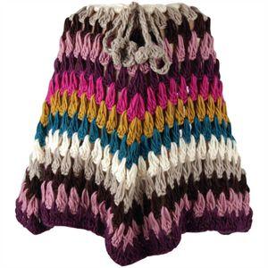 Strick Poncho für Kinder in Einheitsgröße, weicher Poncho - Schal