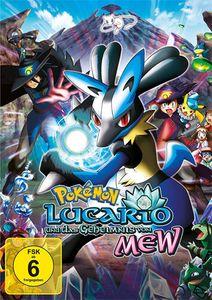 Pokemon - Lucario & das Geheimnis (DVD) von Mew   Min: 103DD5.1WS - Polyband & Toppic  - (DVD Video / Zeichentrick)
