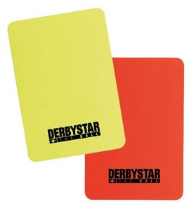 DERBYSTAR Schiedsrichter Rote/Gelbe Karten