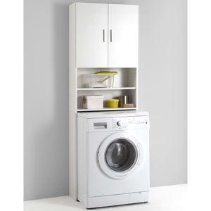 FMD Möbel OLBIA Waschmaschinen-Überbauschrank, weiß, 913-001