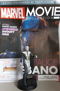 MARVEL MOVIE COLLECTION #90 Ebony Maw Figurine (Avengers: Infinity War) Figurine EAGLEMOSS italienisches Magazin