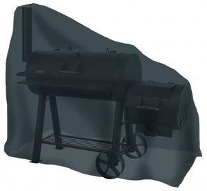Tepro-Grillschutzhülle-Universal Abdeckhaube - für Smoker groß, schwarz; 8108