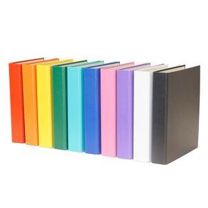 10x Ringbuch / DIN A5 / 2-Ring Ordner / 10 verschiedene Farben