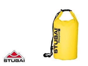 STUBAI - Wasserdichter Packsack - gelb 20L