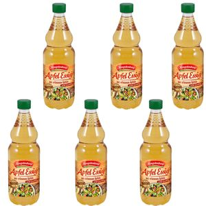 Hengstenberg Apfel Essig in der PET Flasche vegan 750ml 6er Pack