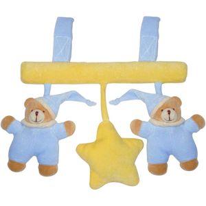 BIECO 17-040077 Greiflinge für Babyschalen - Universalanhänger, hellblau