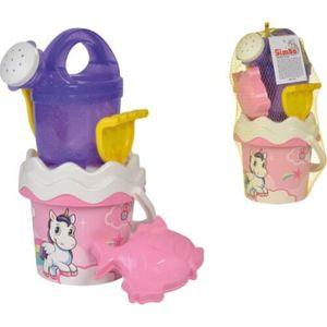 Simba Outdoor Spielzeug Sand & Strand Einhorn Baby Eimergarnitur 107114407