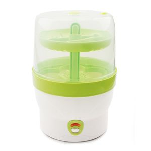 H+H BS 29g Babyflaschen Sterilisator für 6 Flaschen, grün