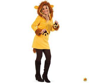 Damen Kostüm Löwe Leonie, Größe:42
