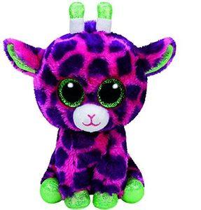 TY 37220 - Gilbert - Giraffe pink/lila, 15 cm, mit Glitzeraugen
