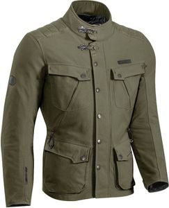 Ixon Exhaust Motorrad Textiljacke Farbe: Khaki, Grösse: M