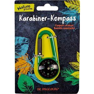 Die Spiegelburg Karabiner-Kompass Nature Zoom