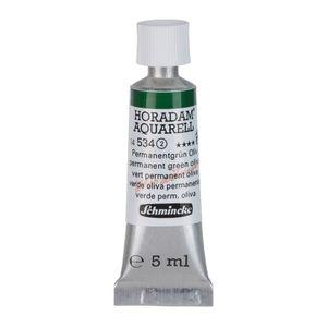 Schmincke 5ml HORADAM Aquarell Permanentgruen oliv Aquarell 14 534 001
