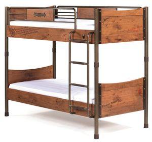 Cilek PIRATE Etagenbett Stockbett Hochbett Bett Kinderzimmer Braun