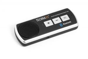 Technaxx Kfz Freisprechanlage BT-X22, Bluetooth, 2 Handys gleichzeitig