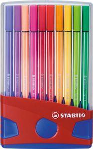 STABILO Fasermaler Pen 68 20er ColorParade rot