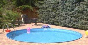 Summer Fun Stahlwandbecken Java Exklusiv rund ø 4,50m x 1,20m Folie 0,8mm Einzelbecken Pool Rundpool / 450 x 120 cm Stahlwandpool Rundbecken