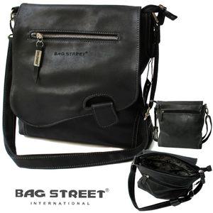 Umhängetasche Damen Tasche Handtasche usedLook schwarz Bag Street Ta5212