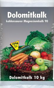 Dolomitkalk 10kg Gartenkalk Rasenkalk Dolomit Magnesium Kalk