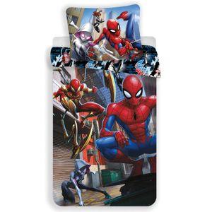 Spiderman Marvel - Kinder Jugend Bettwäsche Set 135/140x200 Baumwolle Jungen