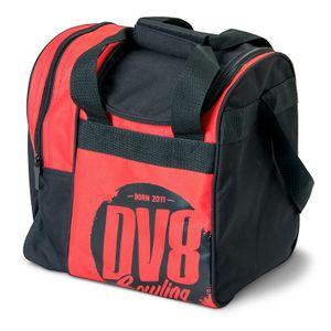 Bowling Ball Tasche DV8 Tactic Single Tote, Platz für Bowlingschuhe Rot