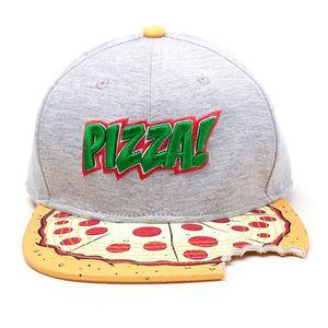 Ninja Turtles Snapback Cap Pizza mit Cut out