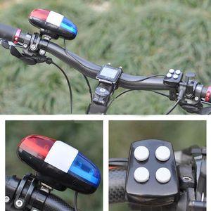 Fahrrad Fahrrad Polizei LED Licht laut Sirene Sound Trompete Radfahren Horn Bell Tool