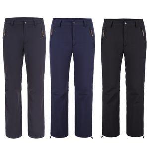 Icepeak Softshellhose Sani für Herren schützt vor Wasser und Wind, Farbe:Schwarz, Bitte Größe wählen:48