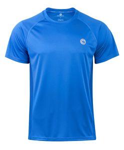 "Sport Shirt ""reflect"" von Stark Soul, Kurzarm, Trainingsshirt - Blau - XL"