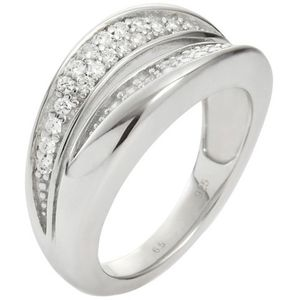 Fossil JFS00037040508 Damen Ring Sterling-Silber 925 17,8 mm Größe 56