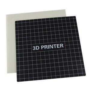 Beheiztes Bett Panel mit mit 3D-Drucker Wärmebettplatte Heißbett-Aufkleber 235 x 235 mm