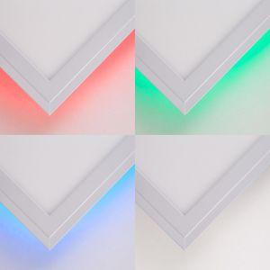 BRILLIANT ALLIE LED Aufbaupaneel 39,6 cm Metall / Kunststoff Weiß