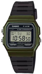 Casio Collection Retro Uhr Digitaluhr F-91WM-3AEF