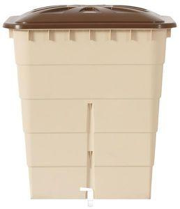 Regentonne eckig Sahara 300 Liter sandbeige GARANTIA 501209