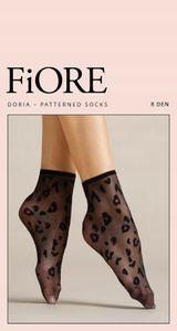Socken Fiore Doria Poudre 8Den
